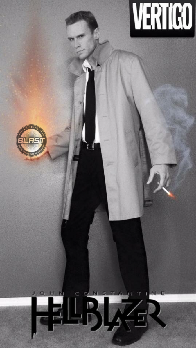 Michael Bruener as DC Comics' John Constantine