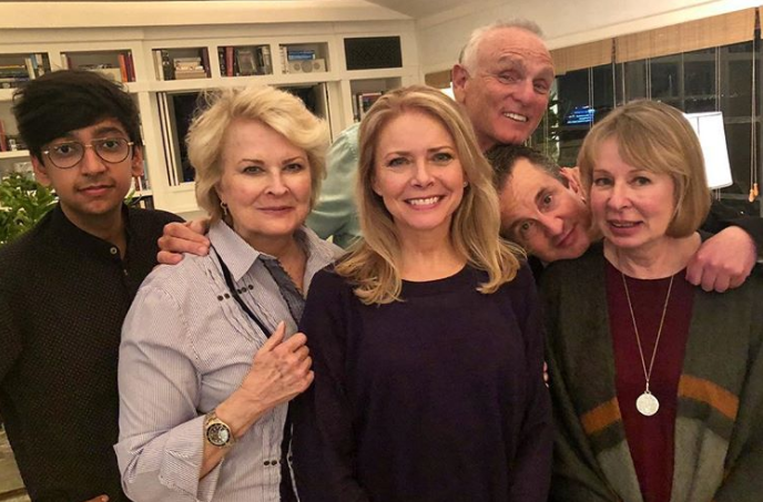 Candice Bergen shares first look at Murphy Brown reboot