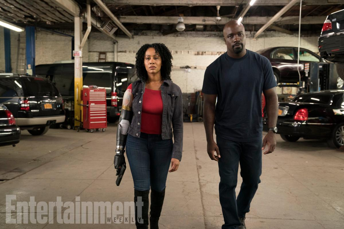 First look at Misty Knight's bionic arm in Luke Cage season 2