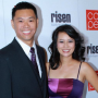 Larissa Lam and her husband 'Only Won' at the CAPE Gala Red Carpet