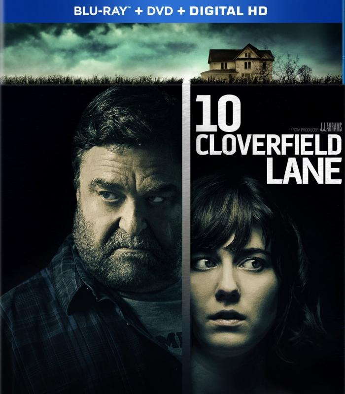 Cloverfield John Goodman Mary Elizabeth Winstead Blu-ray