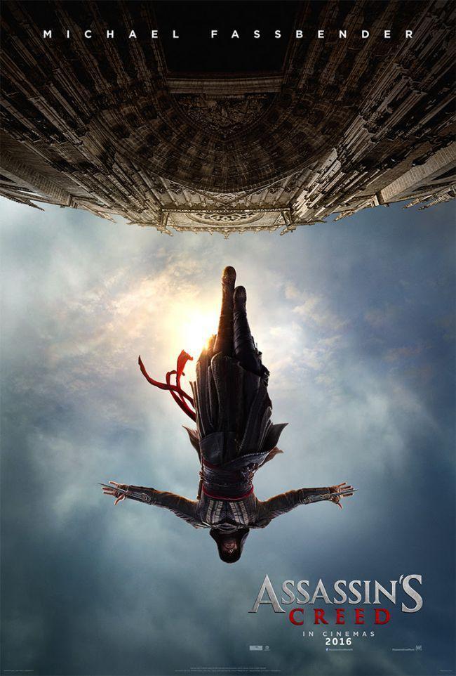 Ubisoft Assassins Creed Michael Fassbender movie trailer