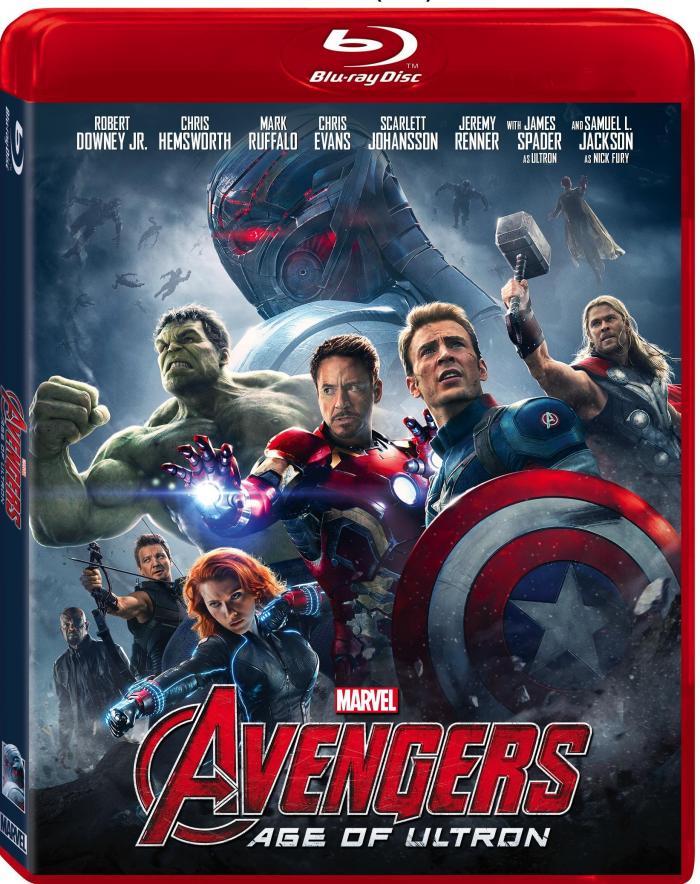 Marvel Avengers Age of Ultron Blu-ray Digital Critical Blast