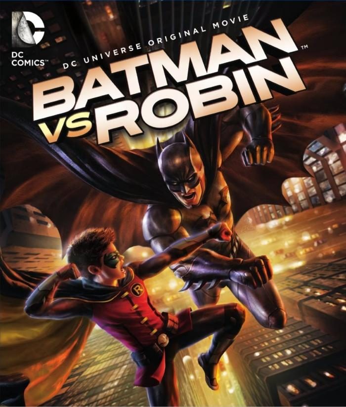 Batman vs Robin DC Universe DVD Critical Blast