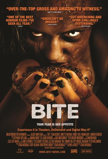 Bite horror movie review Dennis Russo