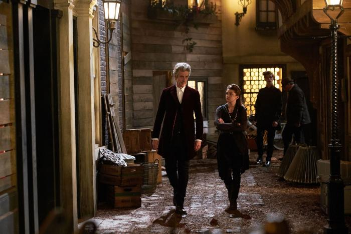 Doctor Who Face The Raven BBC Peter Capaldi