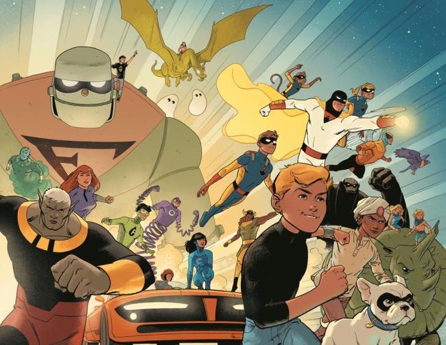 Future Quest #1 from DC Comics