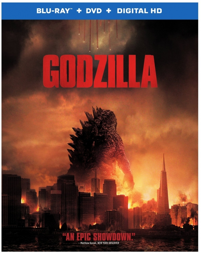 Godzilla on Blu-ray and DVD