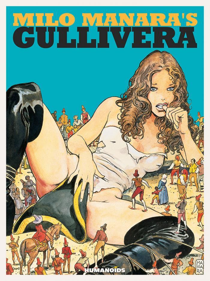Gullivera Milo Manara Humanoids erotic parody Swift