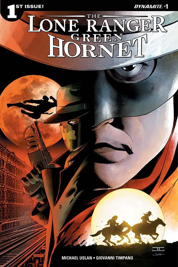 Lone Ranger Green Hornet Dynamite Comics