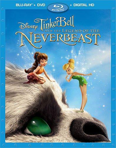 Tinker Bell Pixie Hollow NeverBeast Ginnifer Goodwin Mae Whitman Disney