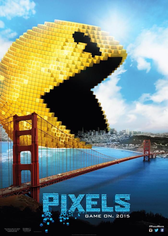 Pixels Columbia Sony Adam Sandler Kevin James Peter Dinklage Critical Blast