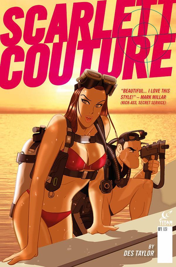 Scarlett Couture Des Taylor Titan Comics Critical Blast