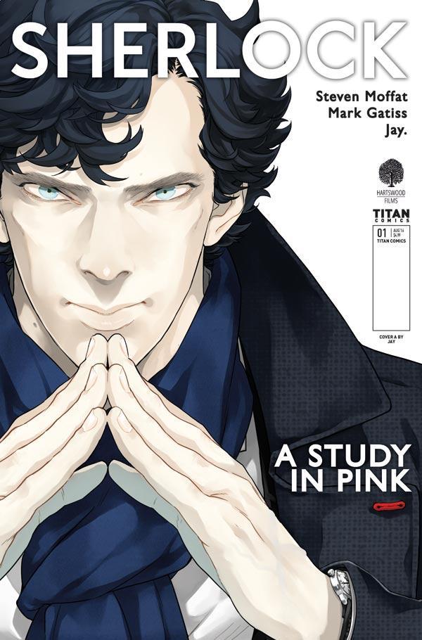 Sherlock Holmes Study Pink Manga Titan Comics Critical Blast