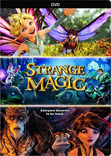 Strange Magic DVD George Lucas Fairies Evan Rachel Wood Alan Cumming