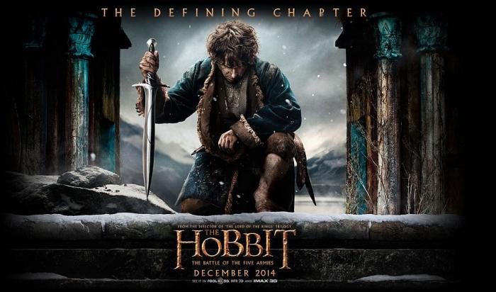 The Hobbit: The Battle of the Five Armies starts Dec 17, 2014