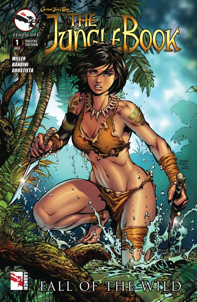 Jungle Book, Fall of the Wild #1 cover by David Finch and Ivan Nunes