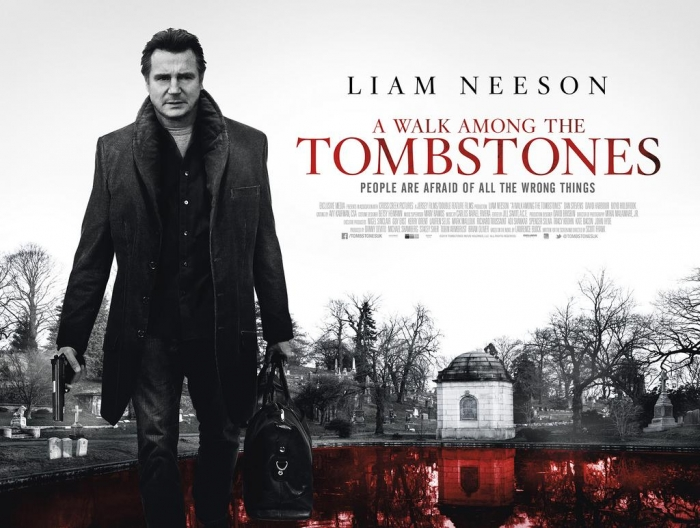 "Liam Neeson in ""A Walk Among the Tombstones;""  opens 9/19/14."