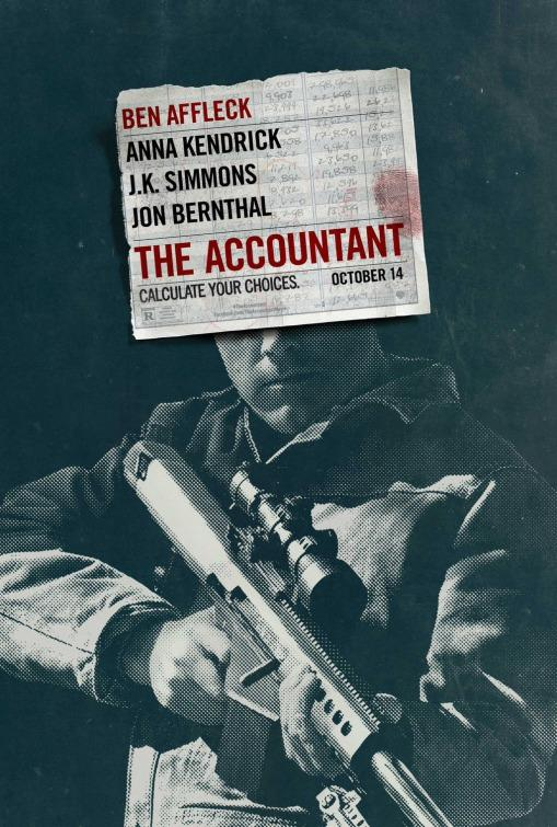 Ben Affleck in THE ACCOUNTANT, opening October 14, 2016.