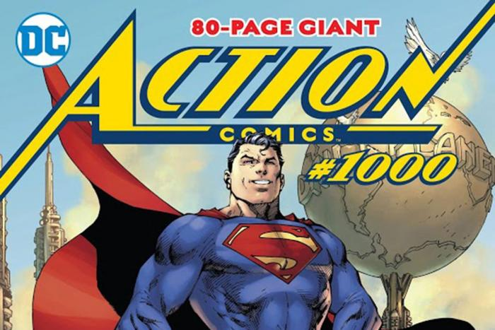 Superman celebrates 80th birthday with Action Comics #1000