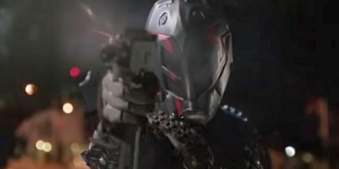 Arrow Episode 505 Human Target
