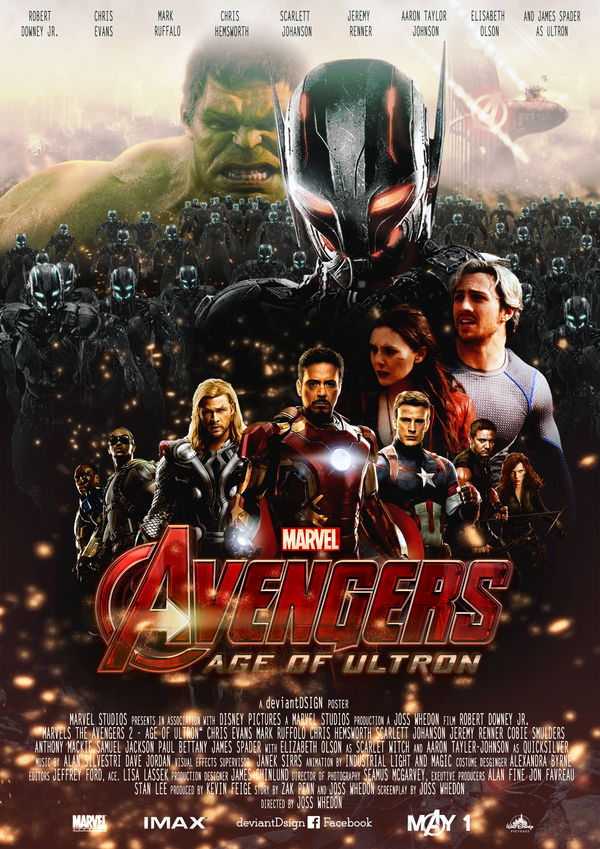 Avengers 2 Age of Ultron Fan ARt made by dDsign of DeviantArt.com