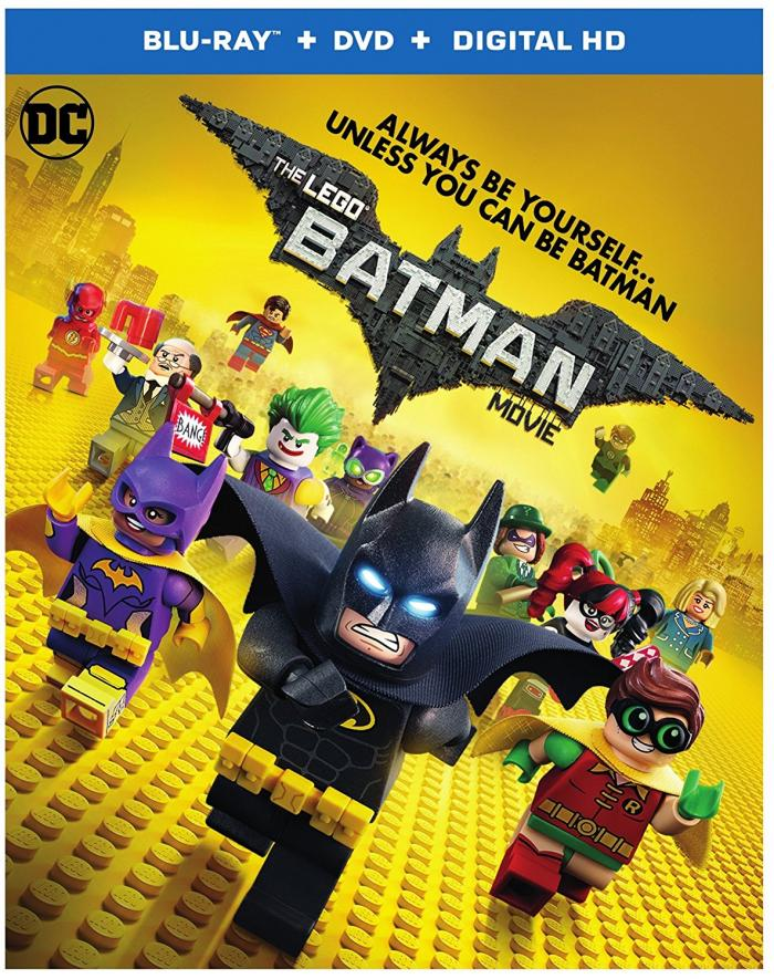 LEGO Batman Movie Blu-ray and DVD