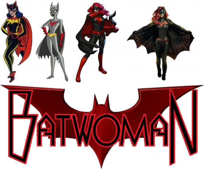 Batwoman from then to now