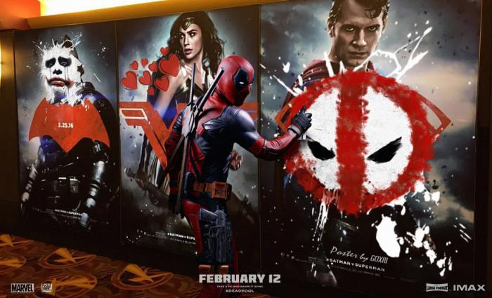 DEADPOOL Parody Poster created by Deviant Art talent GOXIII.