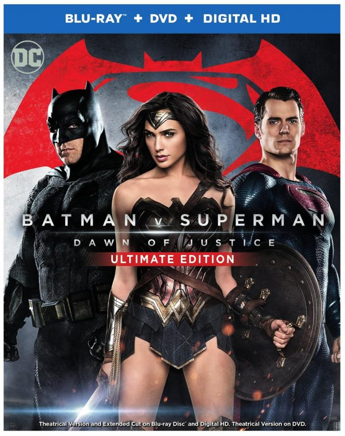 Batman v Superman: Dawn of Justice Ultimate Edition on Blu-ray