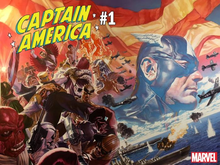 Black Panther Writer Takes Over Captain America Comic