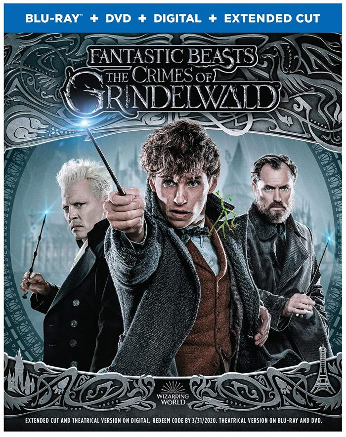 Fantastic Beasts Crimes of Grindwald Blu-ray Harry Potter Wizarding World