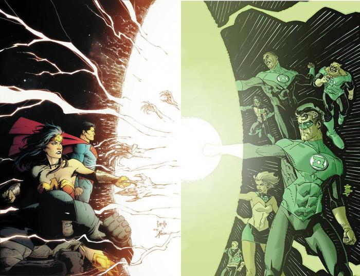 Yes Dark Nights Metal 2 ties into Green Lantern Corps!