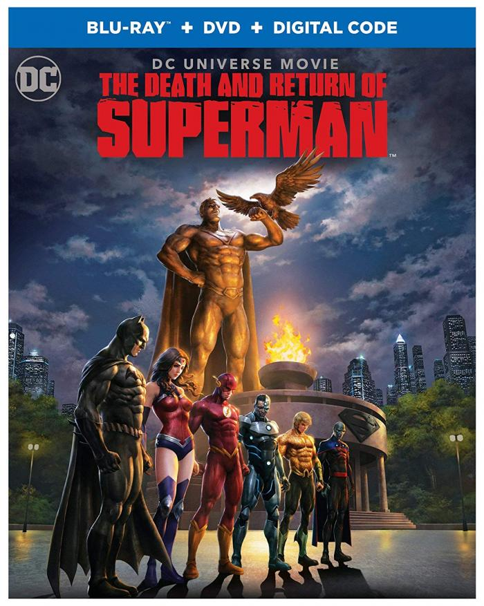 Death and Return of Superman Bluray