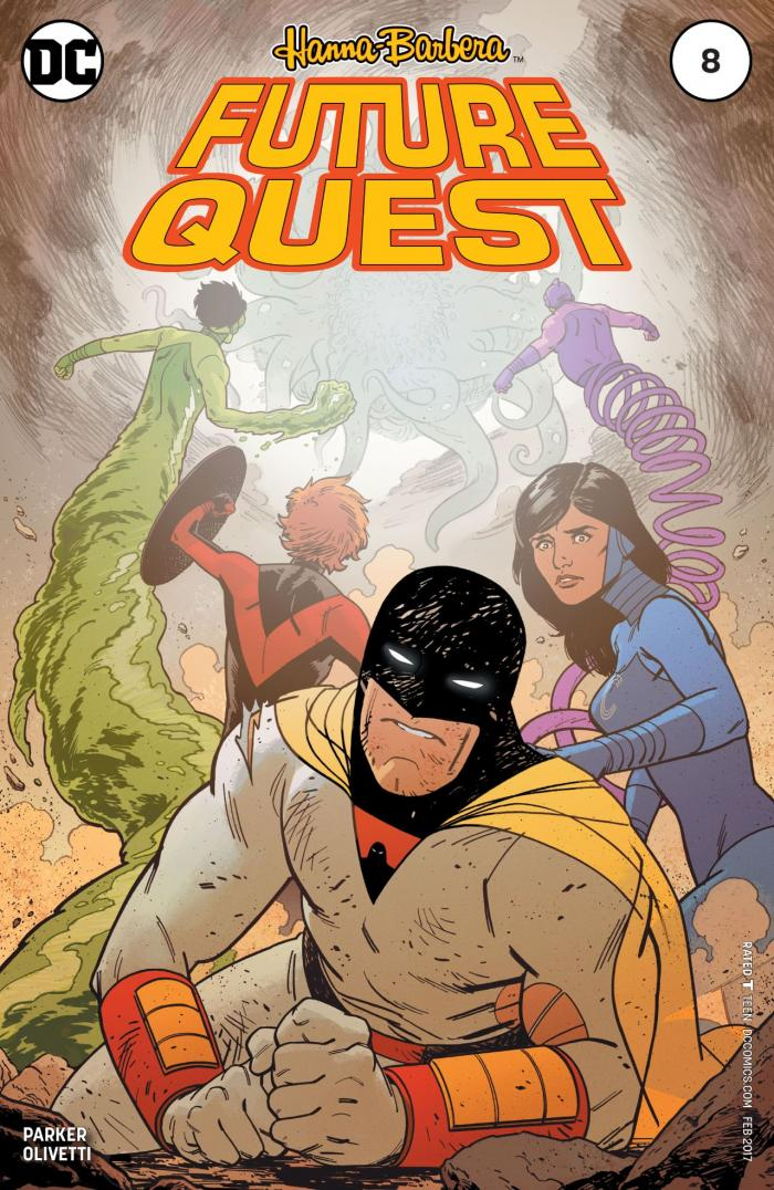 """Future Quest #8, art by Evan """"Doc"""" Shaner"""