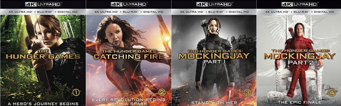 Hunger Games in 4K