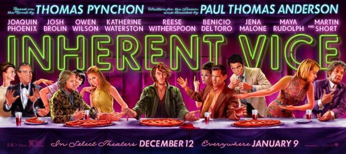 Inherent Vice opens Jan 9, 2015