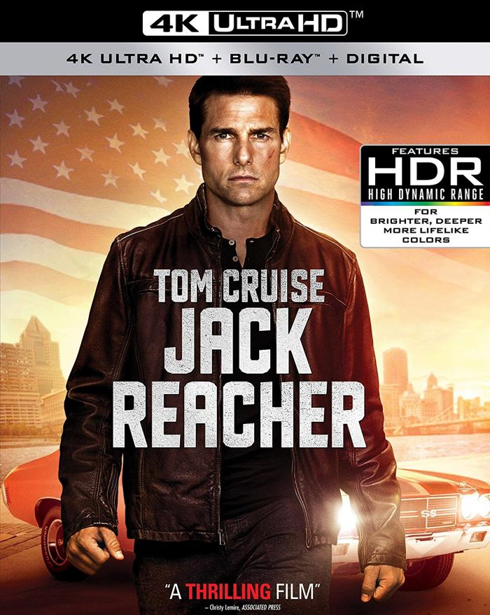 Jack Reacher on 4K