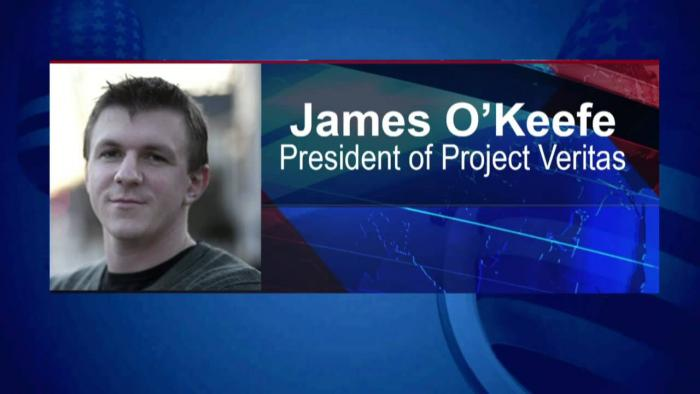 james o keefe project veritas