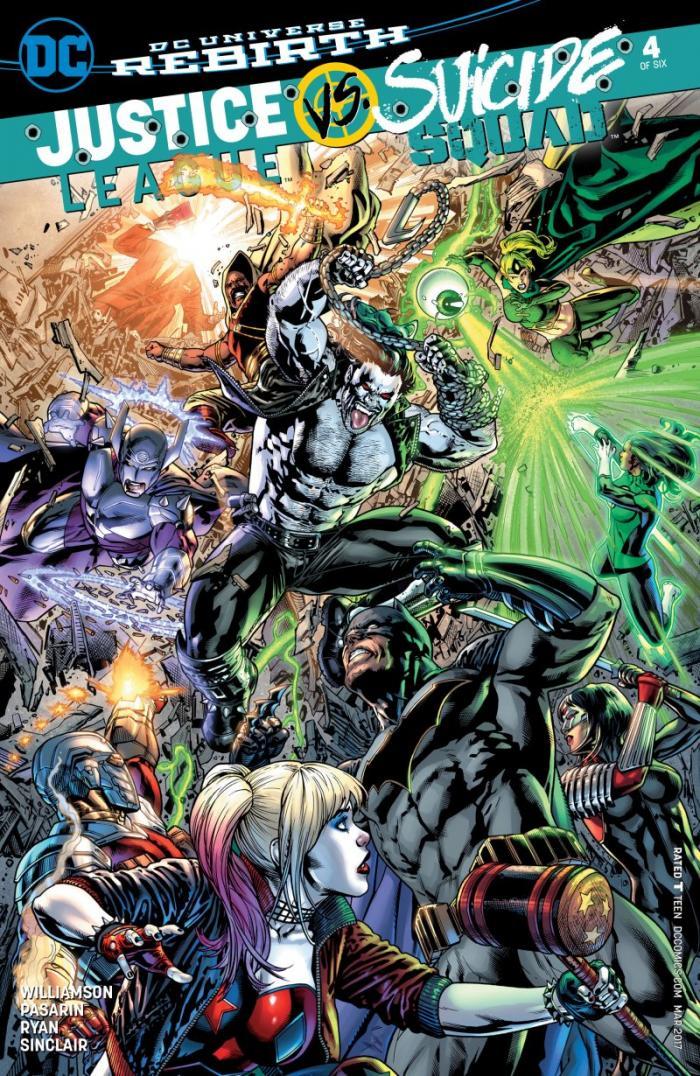 Justice League vs Suicide Squad 4