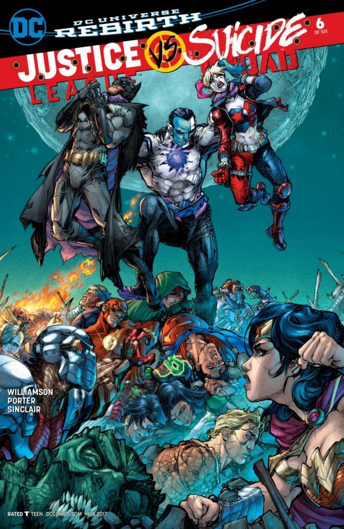 Justice League vs Suicide Squad 6