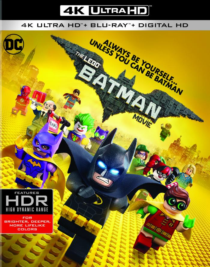 LEGO Batman Movie DVD