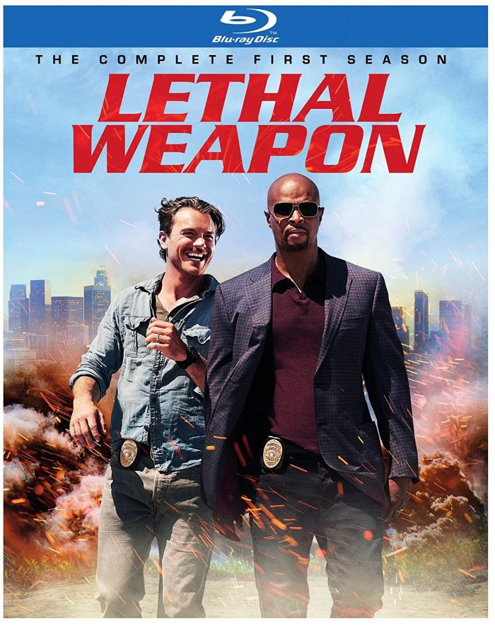 Lethal Weapon Season One on Blu-ray