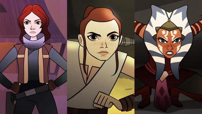 First 'Star Wars Forces Of Destiny' Episode Hits The Web