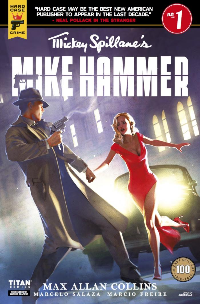 Mike Hammer 1 B cover
