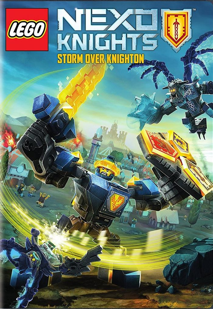 Nexo Knights Season 3 on DVD