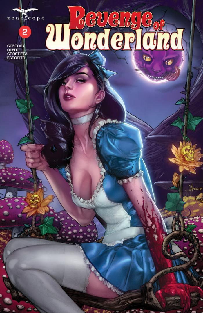 Wonderland's Revenge Takes Shape with Second Issue from