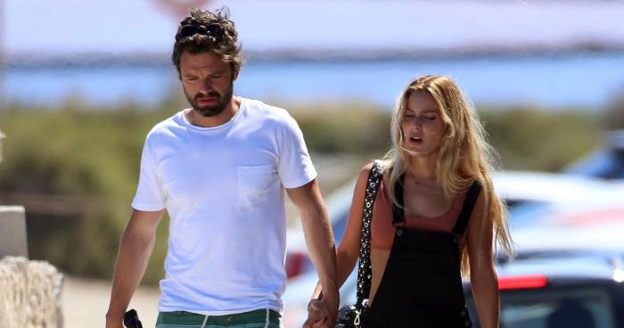 Sebastian Stan and Alejandra Onieva