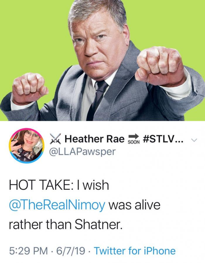 Shatner and LLAPawsper
