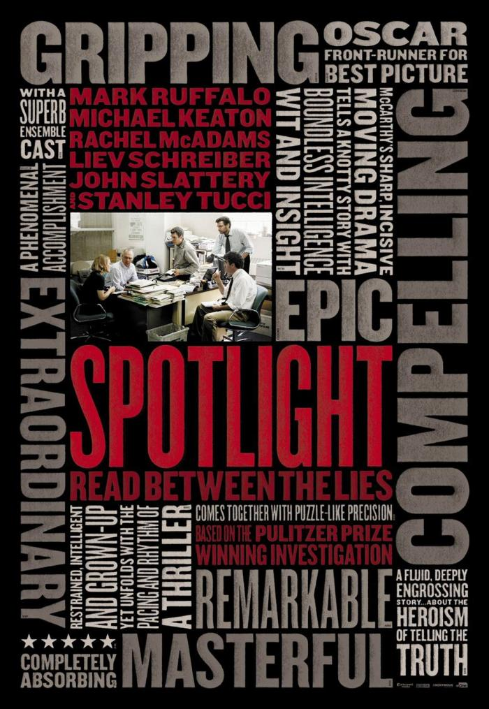 SPOTLIGHT shines everywhere 11/20/15.